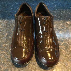 Cole Haan WATERPROOF Brown Patent Leather AIR Shoe